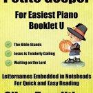 Petite Gospel for Easiest Piano Booklet U PDF