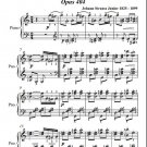Violetta Polka Opus 404 Easy Intermediate Piano Sheet Music PDF