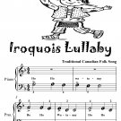 Iroquois Lullaby Piano Sheet Music Tadpole Edition PDF