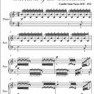 Aviary Carnival of the Animals Easy Piano Sheet Music PDF