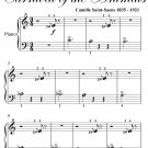 People With Long Ears Carnival of the Animals Beginner Piano Sheet Music PDF