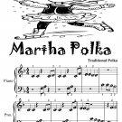 Martha Polka Beginner Piano Sheet Music Tadpole Edition PDF