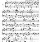 Serenade Number 4 Standchen D957 Elementary Piano Sheet Music PDF