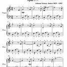 Jurist's Ball Waltz Opus 177 Easy Piano Sheet Music PDF