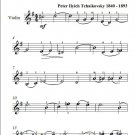 Romeo and Juliet Easy Violin Sheet Music pdf