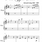 Solvejg's Song Peer Gynt Suite Easiest Piano Sheet Music PDF