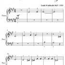 Skater's Waltz Beginner Piano Sheet Music PDF