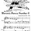 Slavonic Dance Number 2 Beginner Piano Sheet Music Tadpole Edition PDF