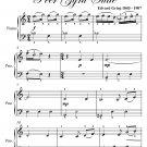 Ingrid's Lament Peer Gynt Suite Easy Piano Sheet Music PDF