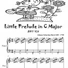 Little Prelude In C Major Bwv 924 Easiest Piano Sheet Music Tadpole Edition Pdf