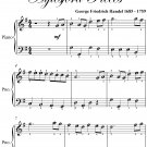 Gavotte Aylesford Pieces Easy Piano Sheet Music PDF