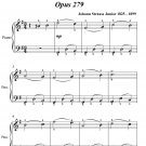 Morning Journals Opus 279 Easy Piano Sheet Music PDF
