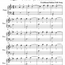Fair Maid of Sorrento La Vera Sorrentina Easiest Piano Sheet Music PDF