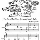 Harp That Once Through Tara's Halls Beginner Piano Sheet Music Tadpole Edition PDF