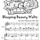 Sleeping Beauty Waltz Beginner Piano Sheet Music Tadpole Edition PDF