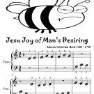 Jesu Joy of Man's Desiring Beginner Piano Sheet Music Tadpole Edition PDF