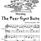 Morning the Peer Gynt Suite Beginner Piano Sheet Music Tadpole Edition PDF