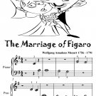 The Marriage of Figaro  Beginner Piano Sheet Music Tadpole Edition PDF