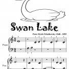 Swan Lake Beginner Piano Sheet Music Tadpole Edition PDF