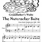Grandfather's Waltz Nutcracker Suite Beginner Piano Sheet Music Tadpole Edition PDF
