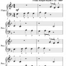 Emperor's Hymn Beginner Piano Sheet Music PDF