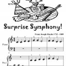 Surprise Symphony Beginner Piano Sheet Music Tadpole Edition PDF