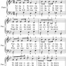 Bringing in the Sheaves Easy Piano Sheet Music PDF