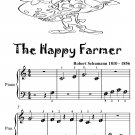The Happy Farmer Beginner Piano Sheet Music Tadpole Edition PDF
