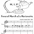 Funeral March of a Marionette Beginner Piano Sheet Music Tadpole Edition PDF