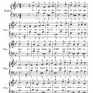 Ye Servants of the Lord Easy Piano Sheet Music PDF