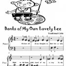 Banks of My Own Lovely Lee Traditional Celtic Beginner Piano Sheet Music Tadpole Edition PDF