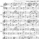 Mazurka Opus 7 Number 2 Easy Piano Sheet Music PDF