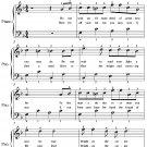 Brighten the Corner Where You Are Easy Piano Sheet Music PDF