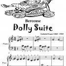 Berceuse Dolly Suite Beginner Piano Sheet Music Tadpole Edition PDF