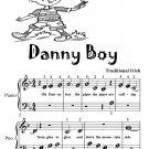Danny Boy Beginner Piano Sheet Music Tadpole Edition PDF