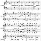 Fine Knacks for Ladies Easy Piano Sheet Music PDF