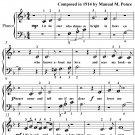 Estrellita Little Star Beginner Piano Sheet Music PDF