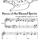 Dance of the Blessed Spirits Beginner Piano Sheet Music Tadpole Edition PDF