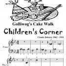 Golliwog's Cake Waltz Children's Corner Beginner Piano Sheet Music Tadpole Edition PDF