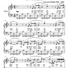 Ah Can'st Thou Leave Me Norma Easy Piano Sheet Music PDF