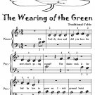 Wearing of the Green Beginner Piano Sheet Music Tadpole Edition PDF