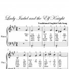 Lady Isabel and the Elf Knight Easiest Piano Sheet Music PDF