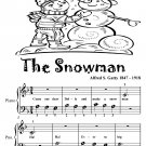 The Snowman Beginner Piano Sheet Music Tadpole Edition PDF