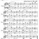 Duchess of Kent's Waltz Queen Victoria's Coronation Easy Piano Sheet Music PDF