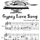 Gypsy Love Song Beginner Piano Sheet Music Tadpole Edition PDF
