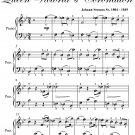 Duke of Wellington's Waltz Queen Victoria's Coronation Easy Piano Sheet Music PDF