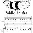 Fiddle de dee Beginner Piano Sheet Music Tadpole Edition