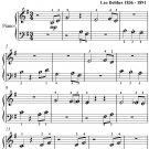 Coppelia Waltz Beginner Piano Sheet Music PDF