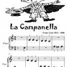 La Campanella Beginner Piano Sheet Music Tadpole Edition PDF