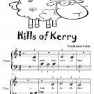 Hills of Kerry Beginner Piano Sheet Music Tadpole Edition PDF